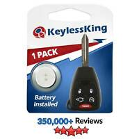 New Uncut Remote Start Key Keyless Entry Combo Transmitter Fob for OHT692427AA