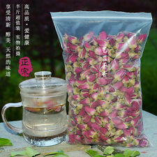 250g Chinese Flower Tea Organic Red Rose Buds Herbal Dried Health for Women