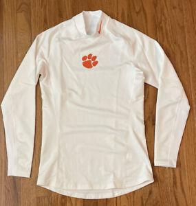 Nike Clemson Tigers Men's Warm Compression L/S Mock Shirt NWOT Small