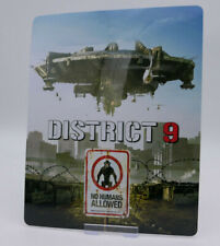 DISTRICT 9 - Glossy Bluray Steelbook Magnet Cover (NOT LENTICULAR)