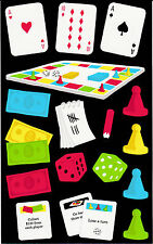 Mrs. Grossman's Giant Stickers - Games - Cards, Board, Tokens, Dice - 2 Strips
