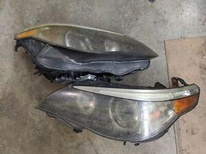 04 05 06 07 BMW E60 E61 525i 530i Xenon HID Headlight w/Adaptive Left and Right