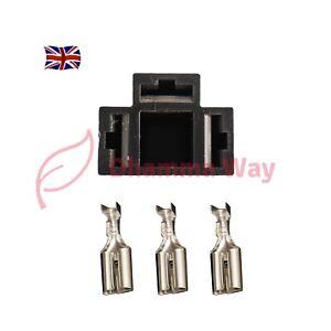 1pc 3pin h4 car connector plug h4 auto holder plug 7.8mm lamp plug bulb UK