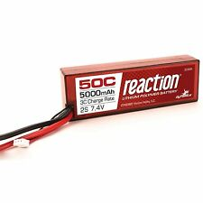 Dynamite Reaction DYNB3802T 7.4V 5000mAh 50C 2S LiPo, Hardcase: TRAXAS
