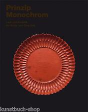 Fachbuch Prinzip Monochrom Keramik + Lack der Song und Qing-Zeit, REDUZIERT, NEU