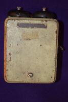 Orignal Antique Stromberg-Carlson Telephone Mfg Co. Ringer Box • Aerovox •