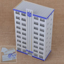 Scale Railway Police Department Headquarter Model Station Building 1:150 jd