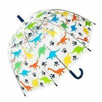 Kids dinosaur clear dome umbrella by Susino