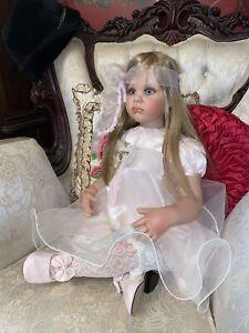 "Fayzah Spanos Doll Give Peace A Chance 30"""