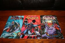 The Spider Set Books #1,2,3 1991 NM 9.4 Eclipse See my store