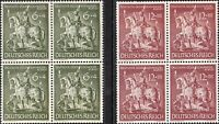 Stamp Germany Mi 860 Sc B247 Block 1943 WWII 3 Reich Goldsmith Knight Saint MNH