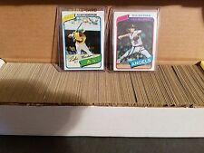 1980 Topps Complete Baseball Set #1-726 ( Rickey Henderson RC ) - MLB