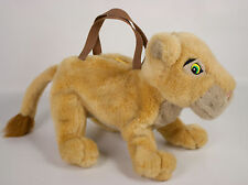 "Disney Store The Lion King Nala Cub 13"" Plush Child's Purse Handbag Zipper Bag"