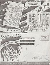 Ace Fireworks Firecracker Catalog Reprint Maywood, Ca