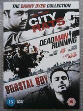 The Danny Dyer Collection: City Rats; Dead Man Running; Borstal Boy 3 DVD boxset