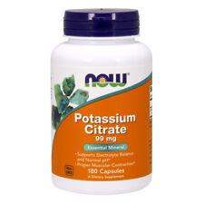 NOW FOODS Potassium Citrate 180 capsule - citrato di potassio