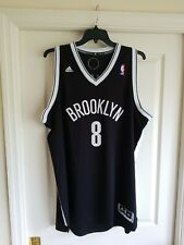Adidas Mens Brooklyn Nets NBA Williams Swingman Jersey Black Man 2XL