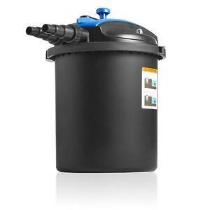 Swell UK Pressure Filter Premium + UV Clarifier & Foam Back Wash System for Koi