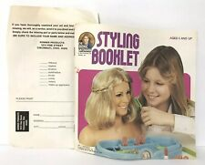 🌟Vintage Kenner BIONIC WOMAN Styling Boutique Figure Booklet Accessories List🌟