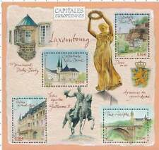Bloc Feuillet BF64 - Capitales européennes - Luxembourg - 2003