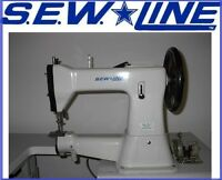 SEWLINE SL 5-1 NEW HD CYLINDER BED LEATHER 110V SERVO INDUSTRIAL SEWING MACHINE