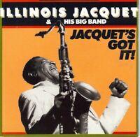 Jacquet's Got It; Illinois Jacquet & His Big Band 1988 CD, Jazz, Jon Faddis, Ric