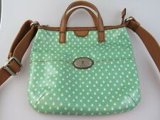 Fossil KEY-PER CROSS BODY MESSENGER BAG  - TOP ZIP ZB5125 Ladybugs GREEN