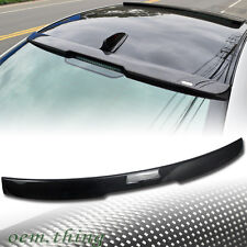 Carbon Fiber For BMW 5-Series E60 Sedan A Type Window Roof Spoiler Wing 528i M5