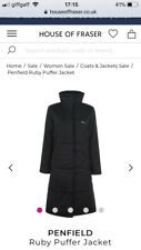 Penfield Womens Ruby Puffer Jacket Black Size L New With Tags RRP£225
