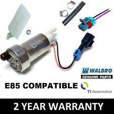 GENUINE WALBRO 450 LPH HIGH PERFORMANCE FUEL PUMP + INSTALL KIT F90000267 E85
