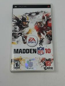 Sony PSP - Madden NFL 10 Complete *FREE SHIPPING*