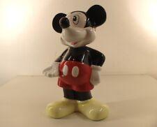 Tirelire Mickey Mous Disney terre cuite faïence céramique 28,5 cm de haut