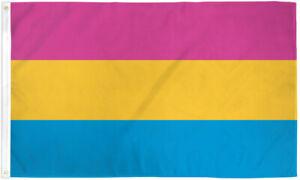 Pansexual Flag 2x3ft Pan Flag Pansexual Pride House Flag Pan Pride LGBT LGBTQIA