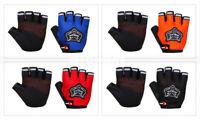 Kid/Men Cycling Gloves Bike Half Finger Sports Bicycle Fingerless Padded Durable