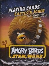Brand New Angry Birds Star Wars Playing Card Set  Chewbacca in a metal can