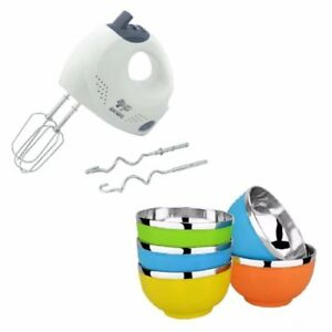 QiaoQiao Hand Mixer with Korean Bowl