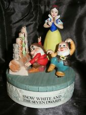 Disney Musical Memories Snow White Limited Edition Porcelain Music Box