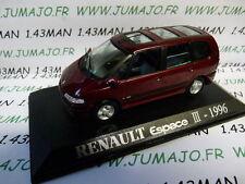 voiture 1/43 M6 Universal Hobbies : RENAULT Espace III 1996