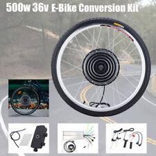 26 Zoll Vorderrad E Bike Conversion Kit 36V 500W Ebike Elektrofahrrad Umbausatz
