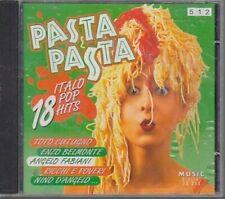 Pasta Pasta-18 Italo Pop Hits Toto Cutugno, Angelo Fabiani, Amanda Lear (.. [CD]