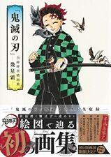More details for [jap book] demon slayer illustrations art book koyoharu gotouge kimetsu no yaiba
