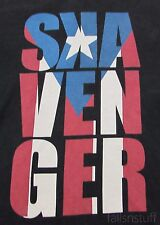 SKAVENGER BMX T-Shirt, Cuban Flag, Sz S Small, Men's