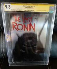 The Last Ronin #2 Metal Ben Bishop Kids Club CGC SS 9.8. 26/50