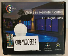 LED Light Bulbs, Wireless Remote Control