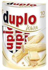 (100g=1,64€) Ferrero Duplo White - Weiße Schokolade - 10 Schokoriegel - 182g