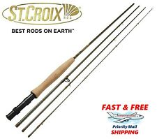 "St Croix Rods - Rio Santo Fly Rod - 8'-0"" 4wt - 4 Piece with Soft Case (RS804.4)"
