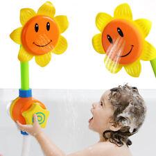 Sunflower Bath Toy Kids Easy Fun Bath Time Water Spray Play Boys Girls Bathing