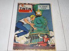TINTIN 26/05 1955 N°344 HERGE AFFAIRE TOURNESOL DAN COOPER WEINBERG EDISON