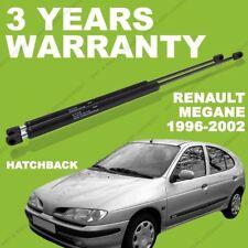 2x Gas Struts for Renault Megane 1996-2002 Hatchback Rear / Boot lifter