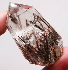 66g RARE NATURAL Red Tourmaline QUARTZ CRYSTAL POINT HEALING